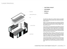 Honorable mention - constructioncontainerfacelift architecture competition winners