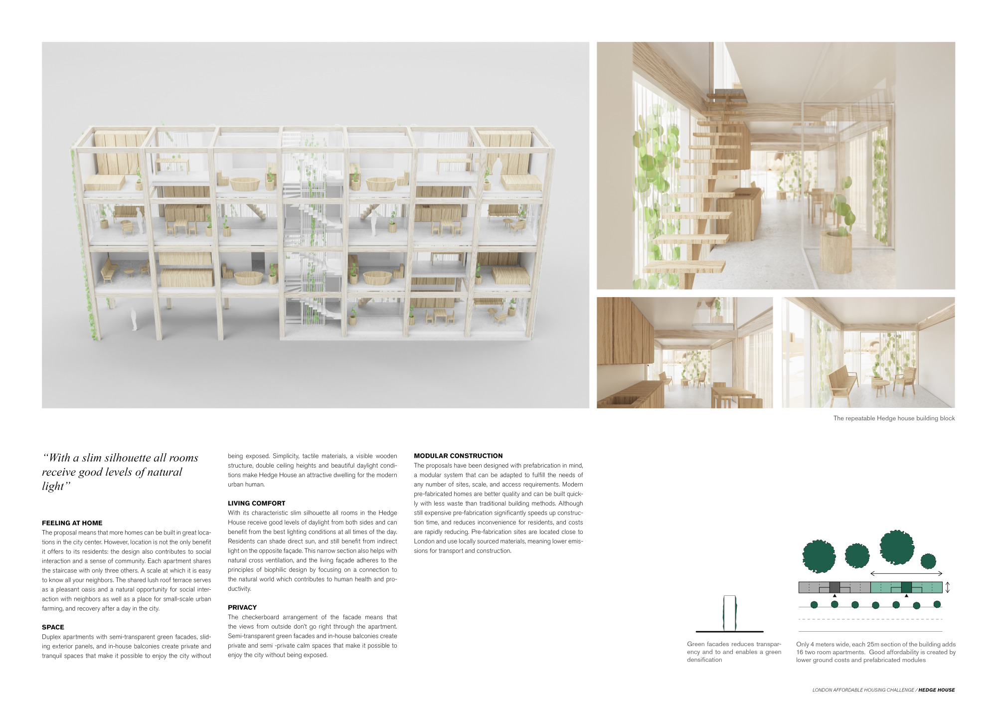 London Affordable Housing Challenge Competition Winners