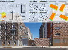 1ST PRIZE WINNER constructioncontainerfacelift architecture competition winners