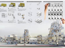 1ST PRIZE WINNER londonhousing architecture competition winners