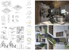 3RD PRIZE WINNER skyhive2019 architecture competition winners