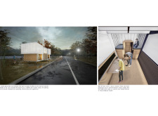 BB GREEN AWARD velostops architecture competition winners