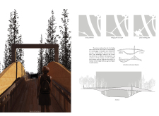 Honorable mention - gaujafootbridge architecture competition winners