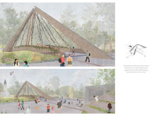 BB GREEN AWARD+  BB STUDENT AWARD gaujafootbridge architecture competition winners