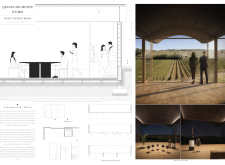 2ND PRIZE WINNER wineroom architecture competition winners