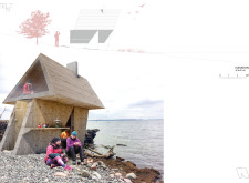Honorable mention - amberroadtrekkingcabins architecture competition winners