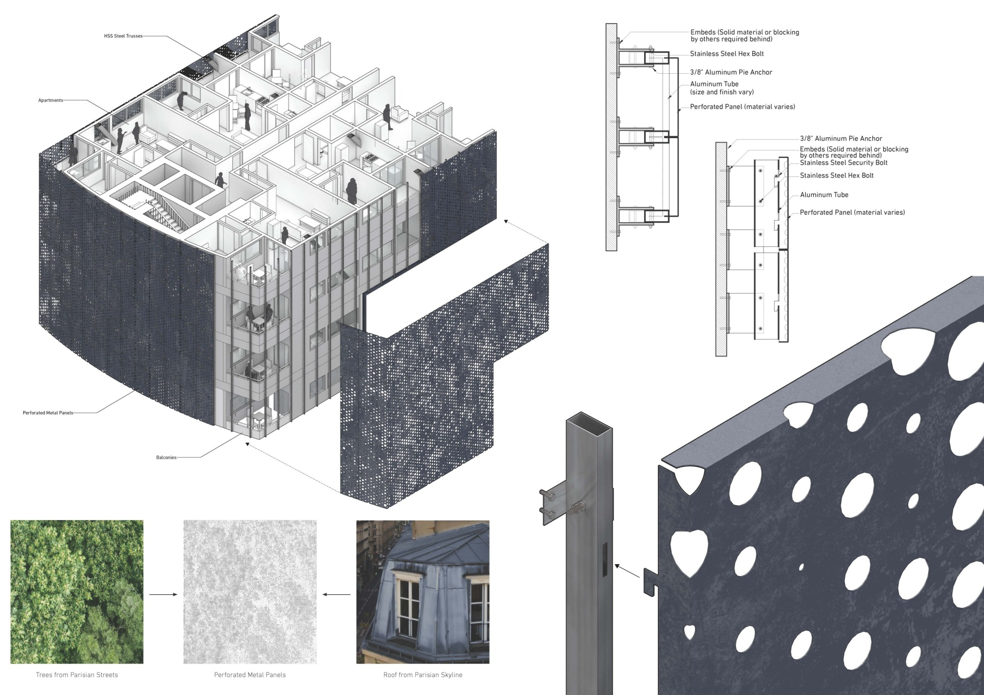 Monumental housing winning proposal