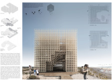 3RD PRIZE WINNER flamingotower architecture competition winners