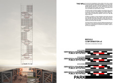 3RD PRIZE WINNER+  BB STUDENT AWARD skyhive architecture competition winners
