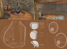 3RD PRIZE WINNER+  BB STUDENT AWARD cambodiahuts architecture competition winners