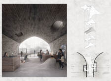 Honorable mention - blacklavacenter architecture competition winners