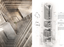 Honorable mention - skyhive architecture competition winners