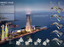 1ST PRIZE WINNER skyhive architecture competition winners