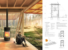 3RD PRIZE WINNER amberroadtrekkingcabins architecture competition winners