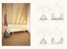 1ST PRIZE WINNER amberroadtrekkingcabins architecture competition winners