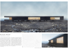 3RD PRIZE WINNER blacklavacenter architecture competition winners