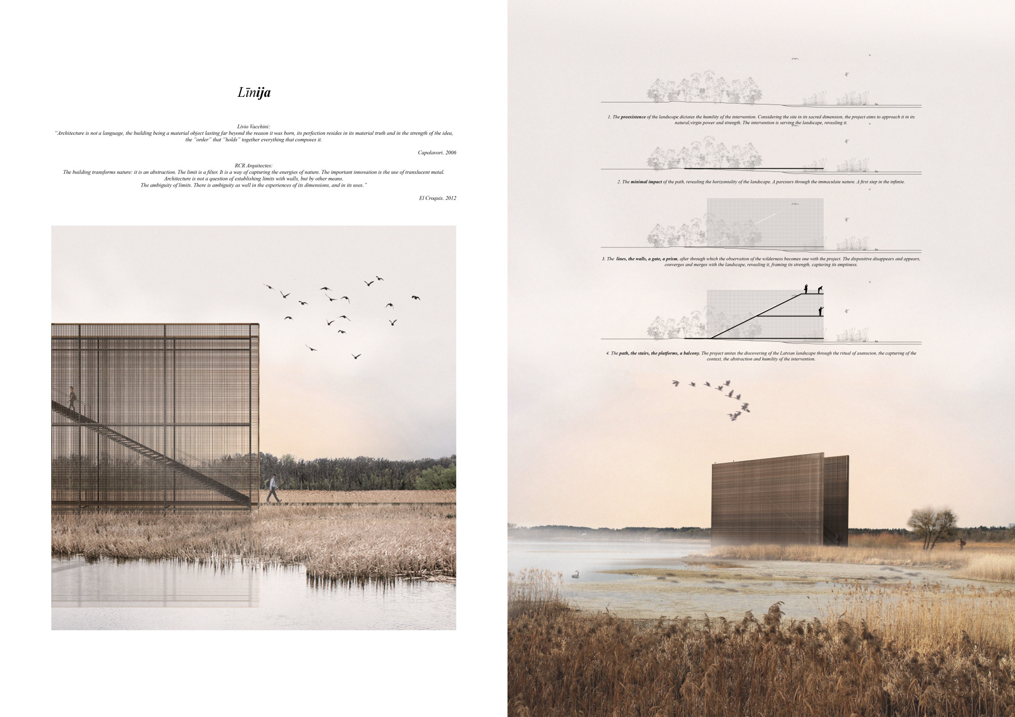 PAPE  BIRD OBSERVATION  TOWER 3RD PRIZE WINNER