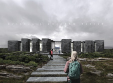 3RD PRIZE WINNER icelandvolcanomuseum architecture competition winners