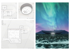 Honorable mention - icelandvolcanomuseum architecture competition winners